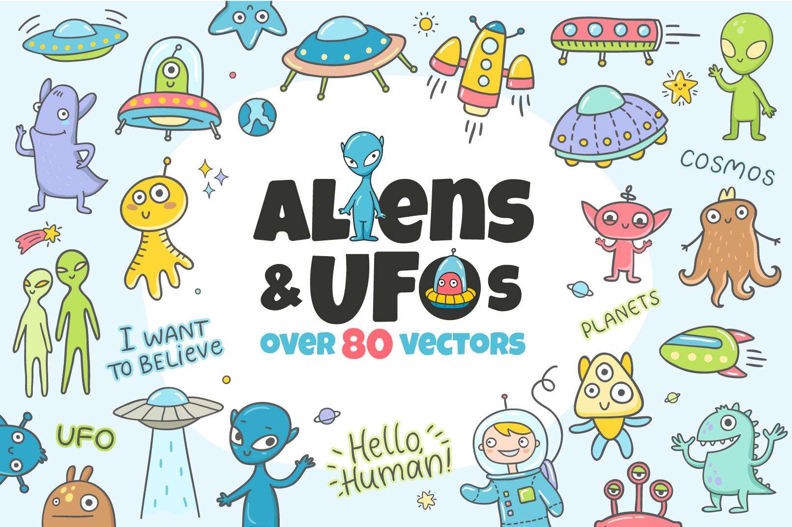Aliens & UFOs example image 1