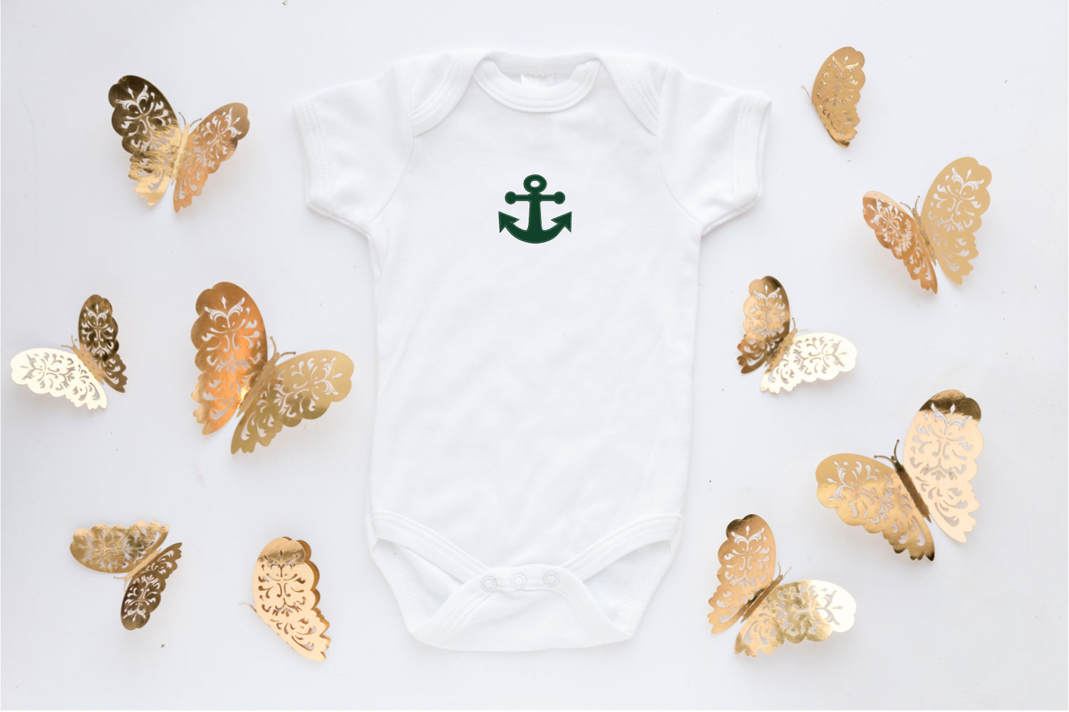 Anchor Applique Embroidery Design, Sea Embroidery Pattern example image 2
