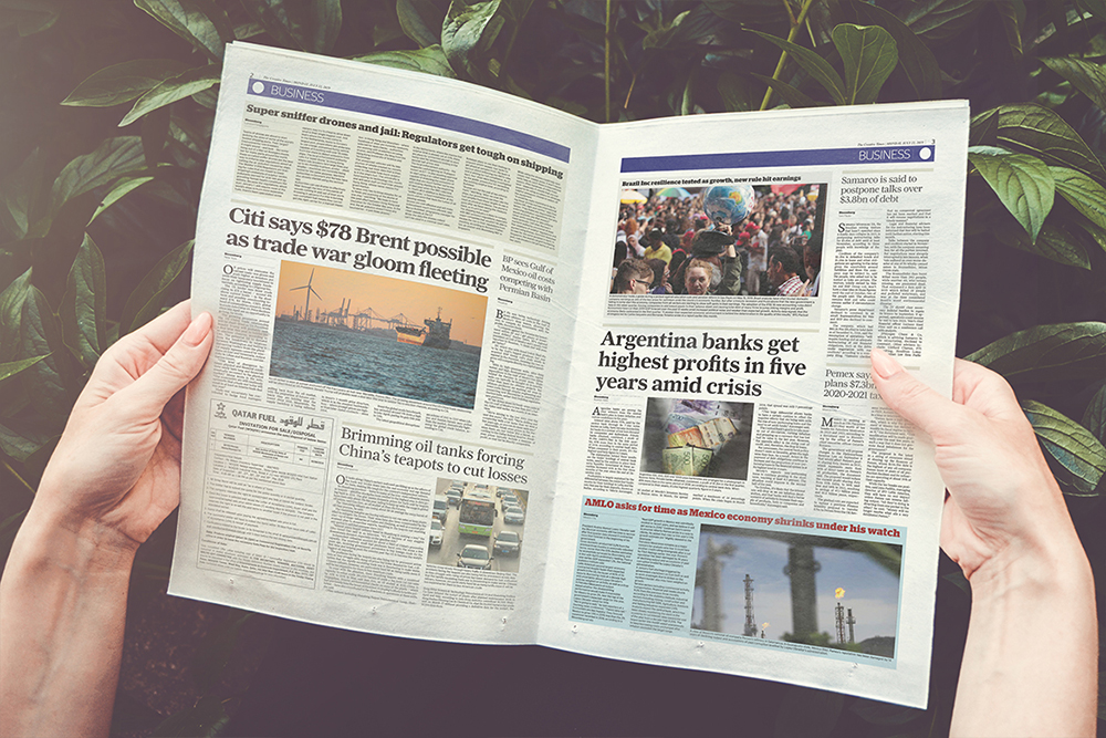 a4 Newspaper Mockups example image 6