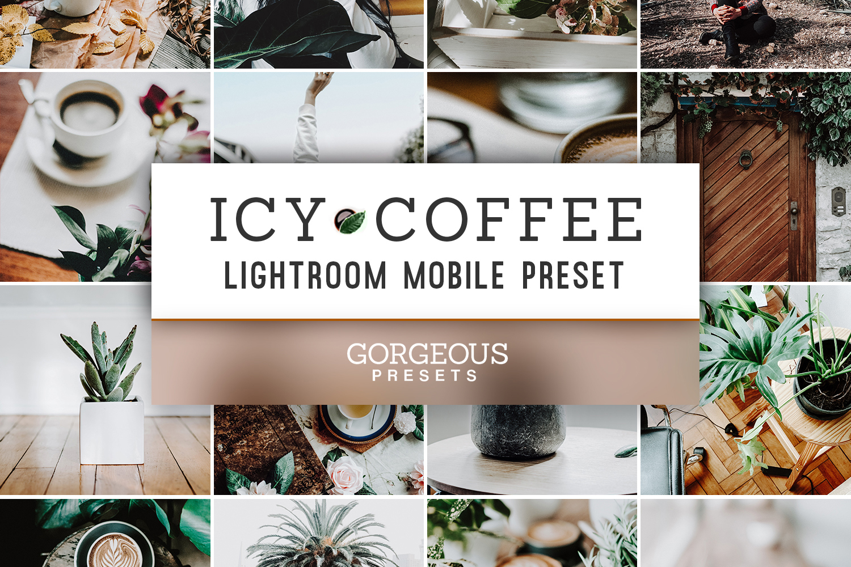 Mobile Lightroom Preset ICY COFFEE example image 1