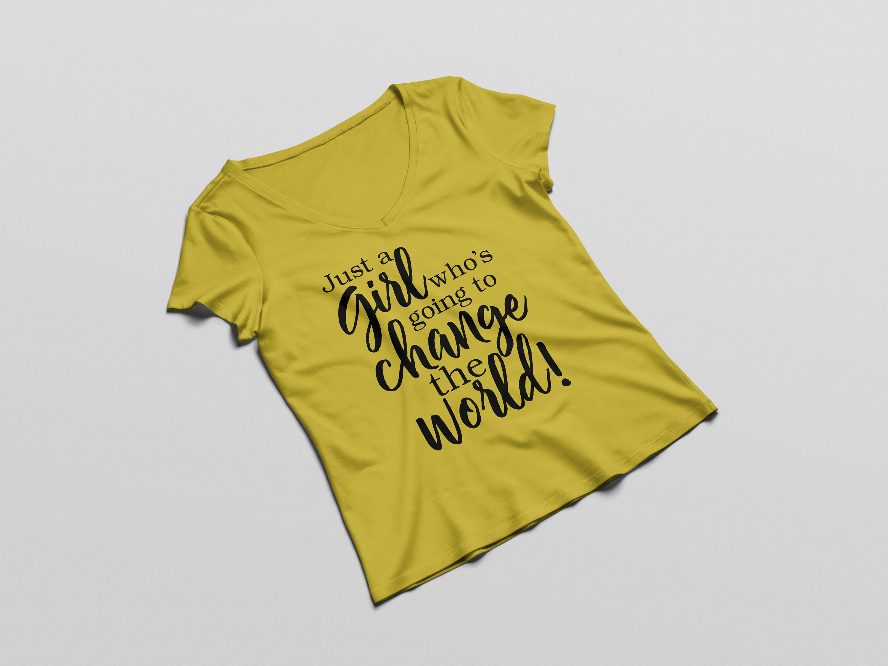Just a girl who's going to change the world svg digital example image 2