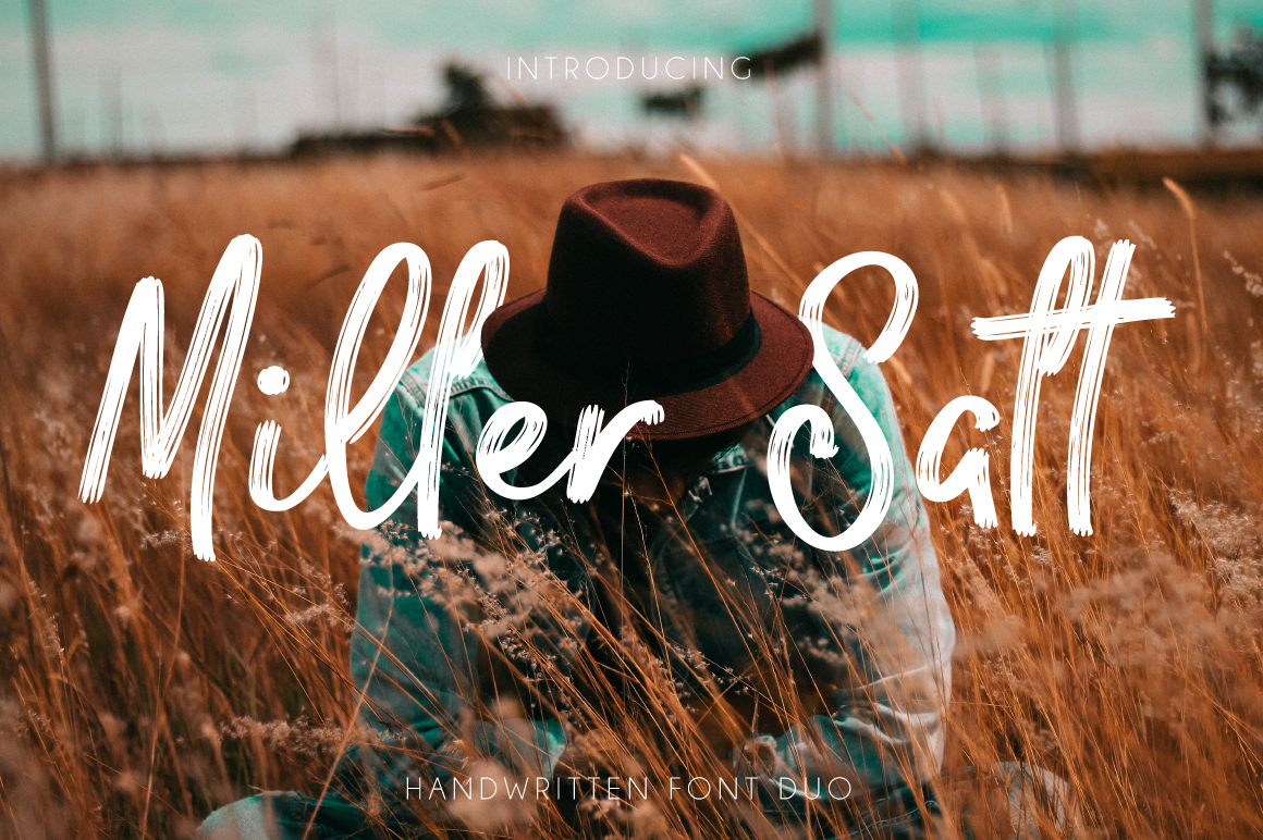 Miller Salt Font DUO example image 1