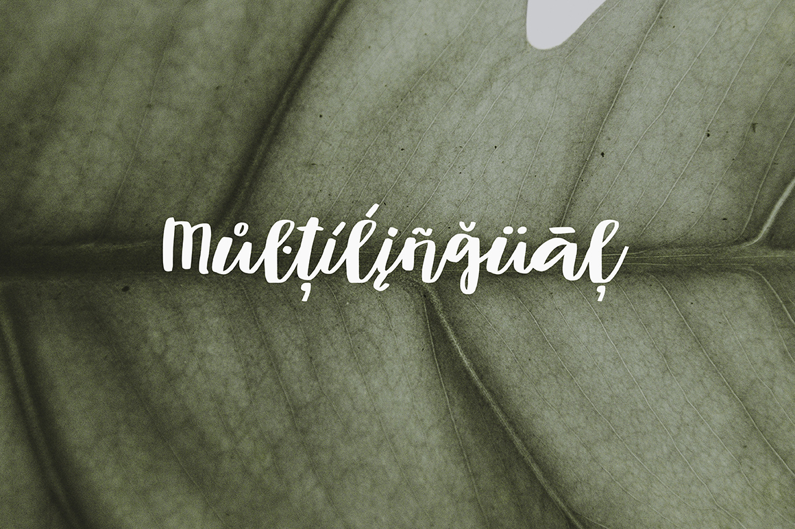 Muscat Handwritten Script example image 6
