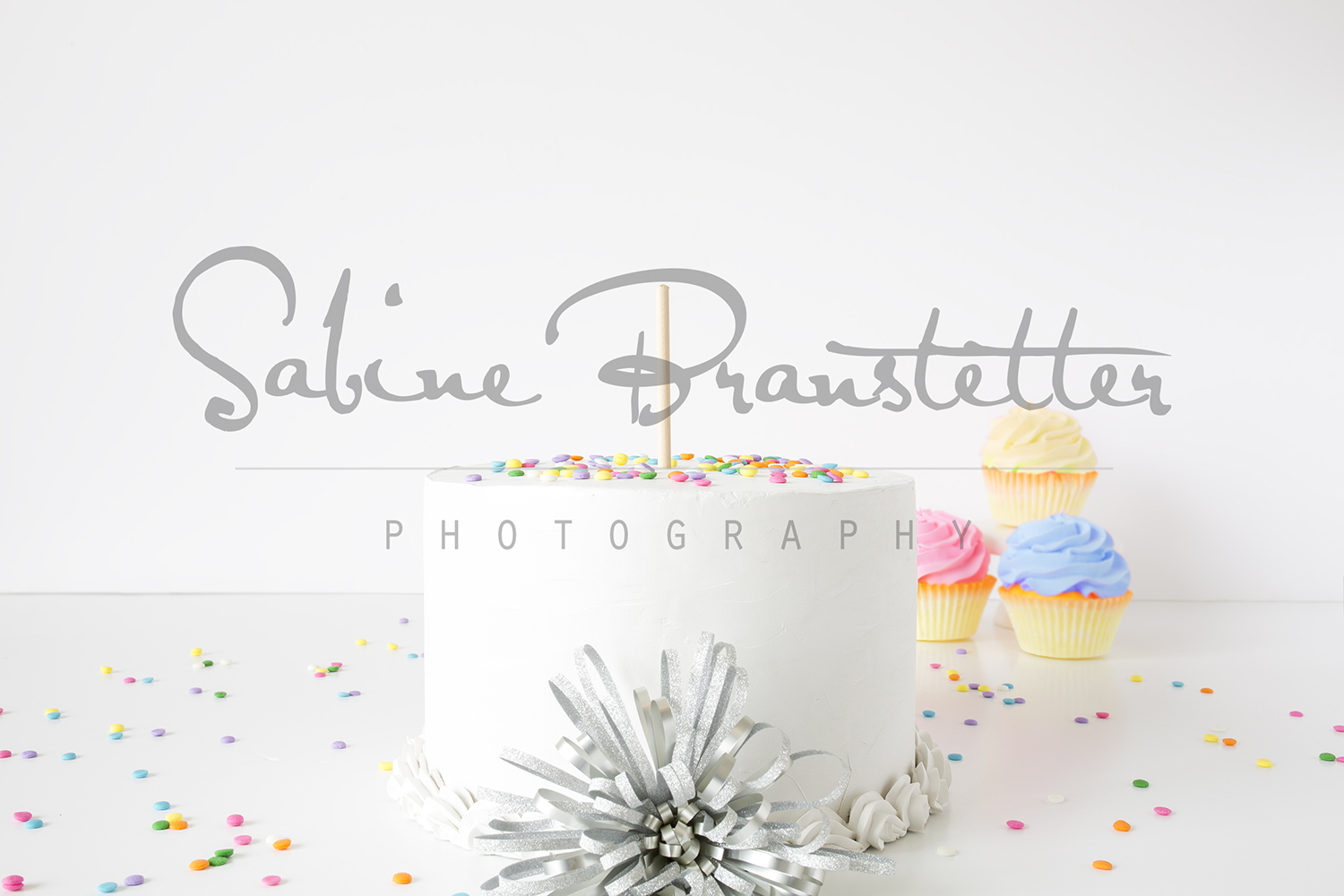 Styled Stock Photography White Cake Mockup example image 1