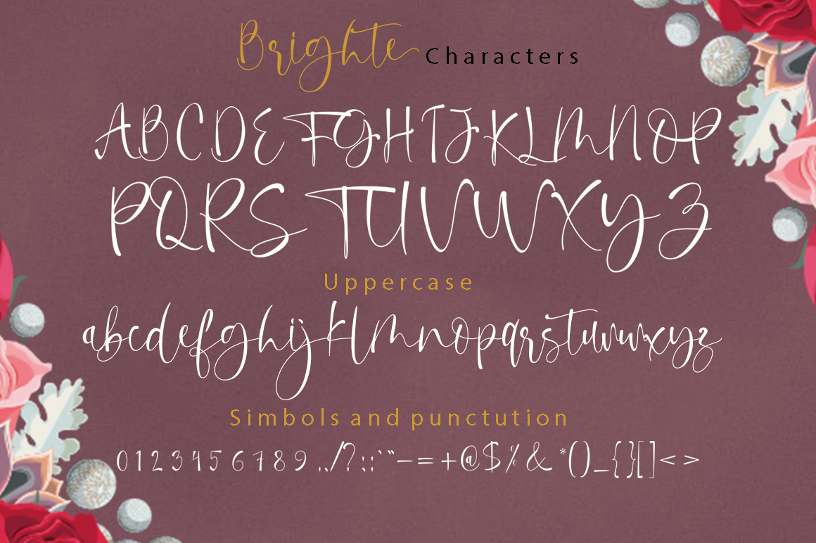 Calligraphy Script Bundle example image 22