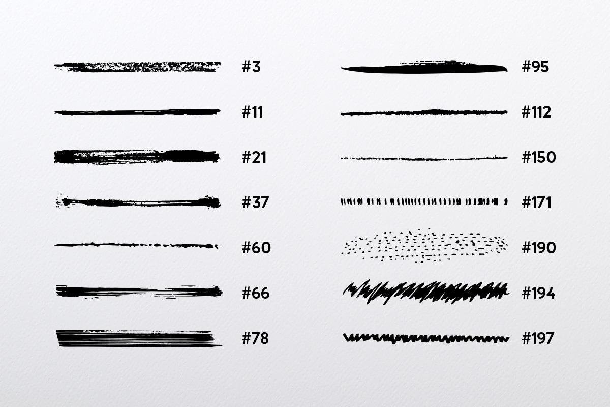 Illustrator's Ultimate Brush Pack example image 4