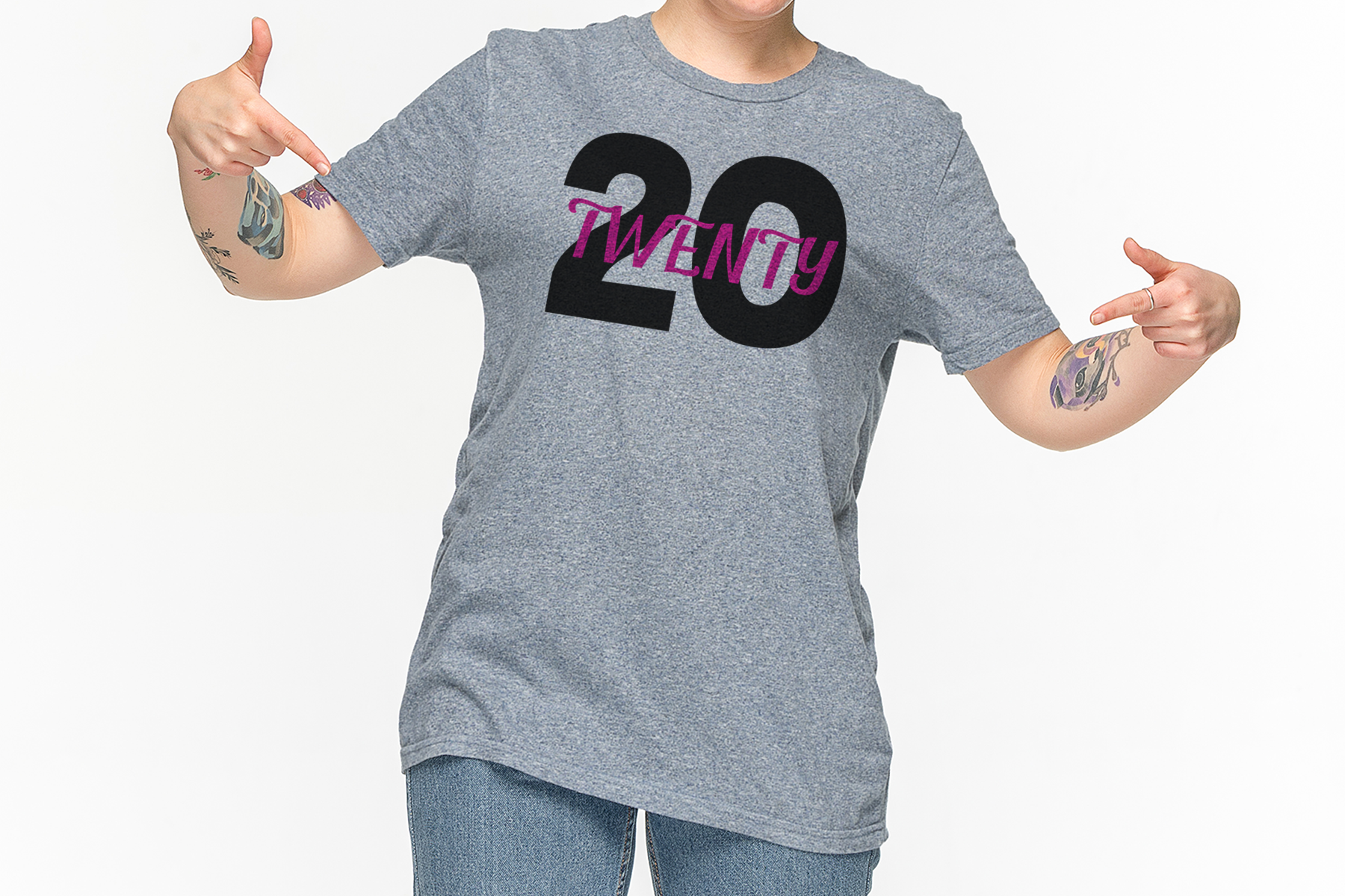 2020, A 20 Twenty New Year SVG Cut or Print File example image 3