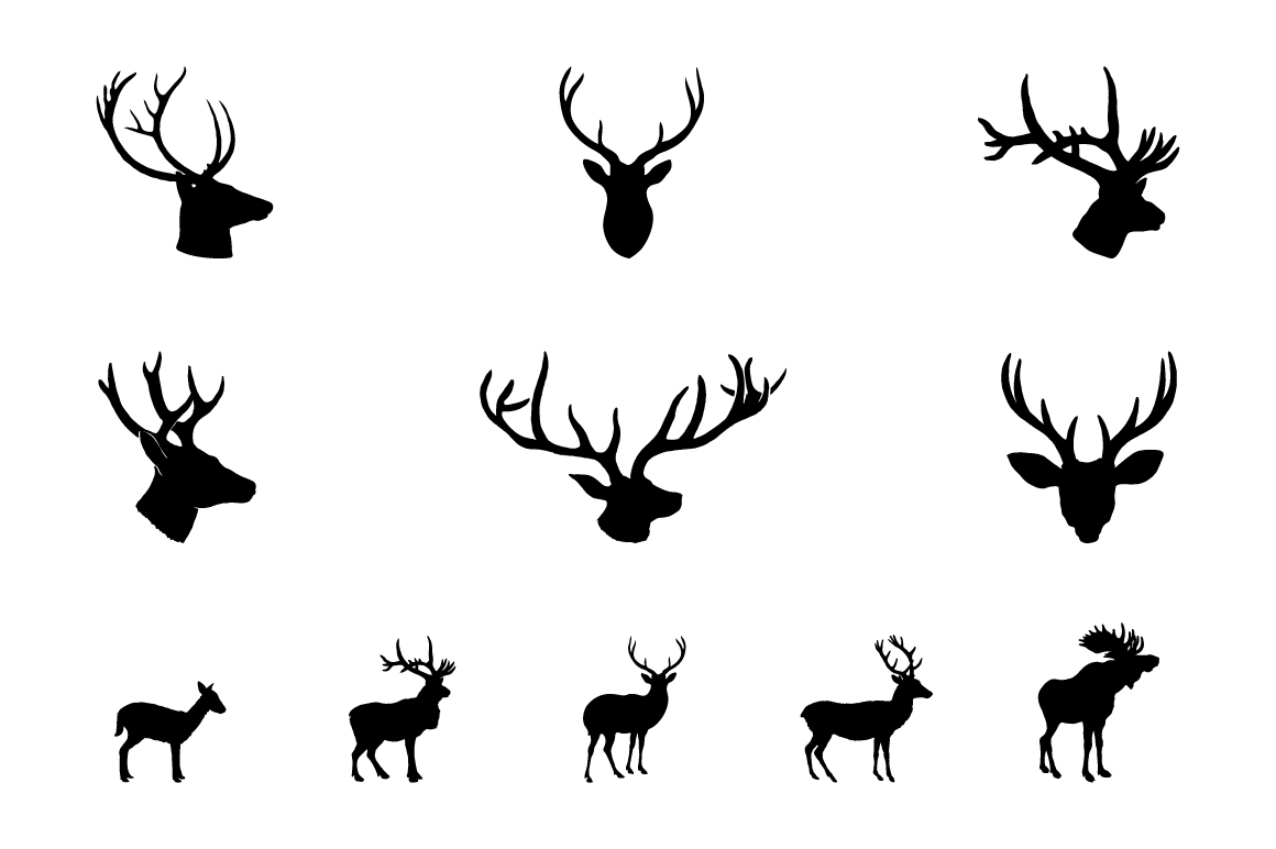 Rustic Animals Clipart - AI PNG EPS example image 3