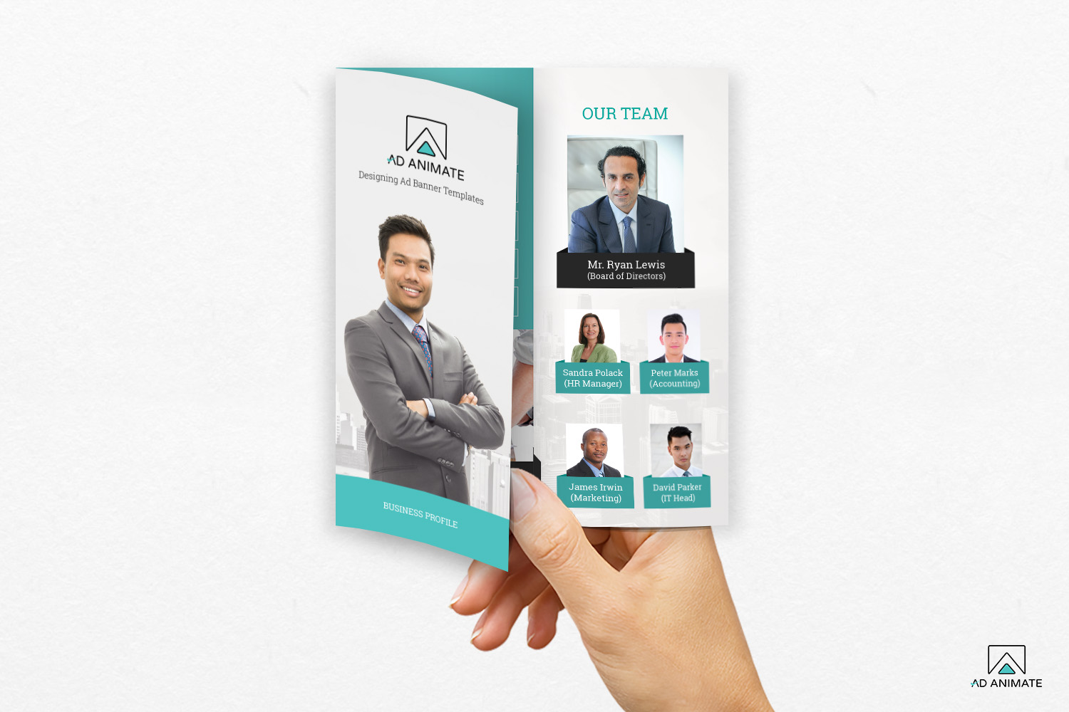 Trifold Business Brochure example image 4