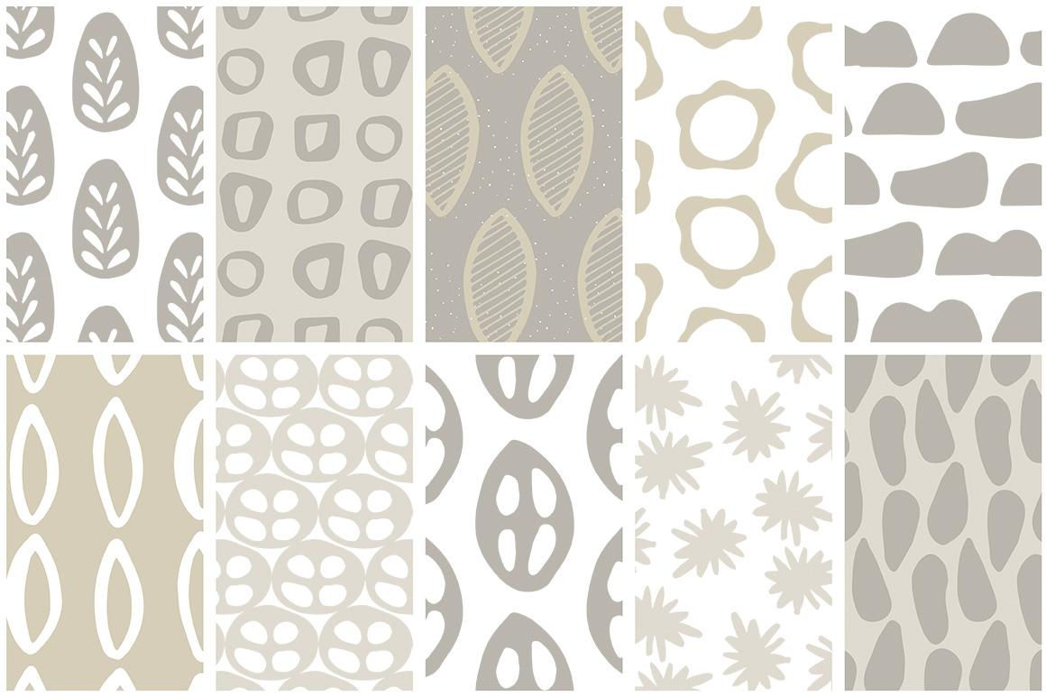 Scandinavian Patterns set of 40 example image 6