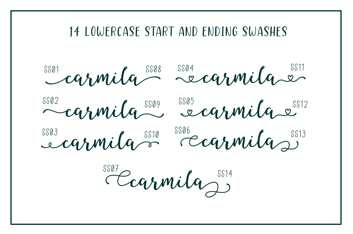 Better Caramel // Font Trio example image 2