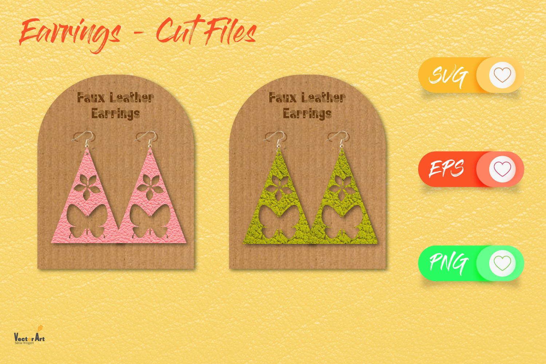 5 Earrings - Mini Bundle - Cut files example image 7