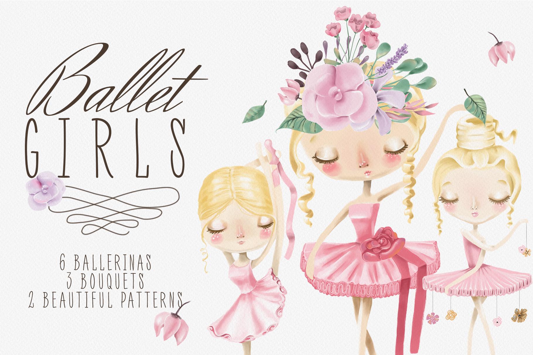 Ballet Girls example image 1