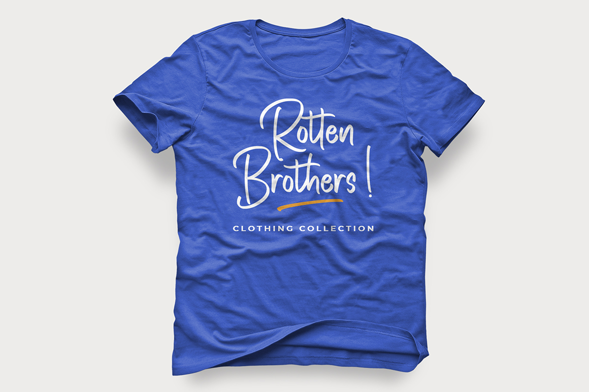 Rotten Brothers - Handwritten Font example image 7