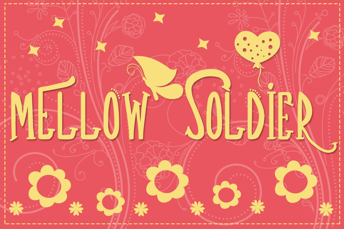 Mellow Soldier Font example image 1