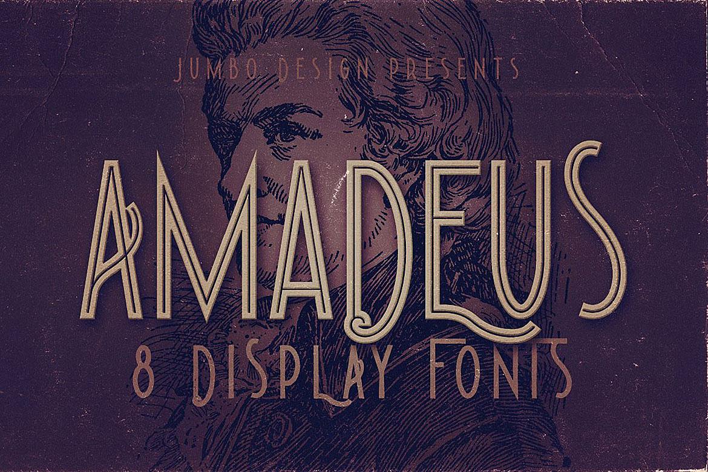Amadeus - Display Font example image 1
