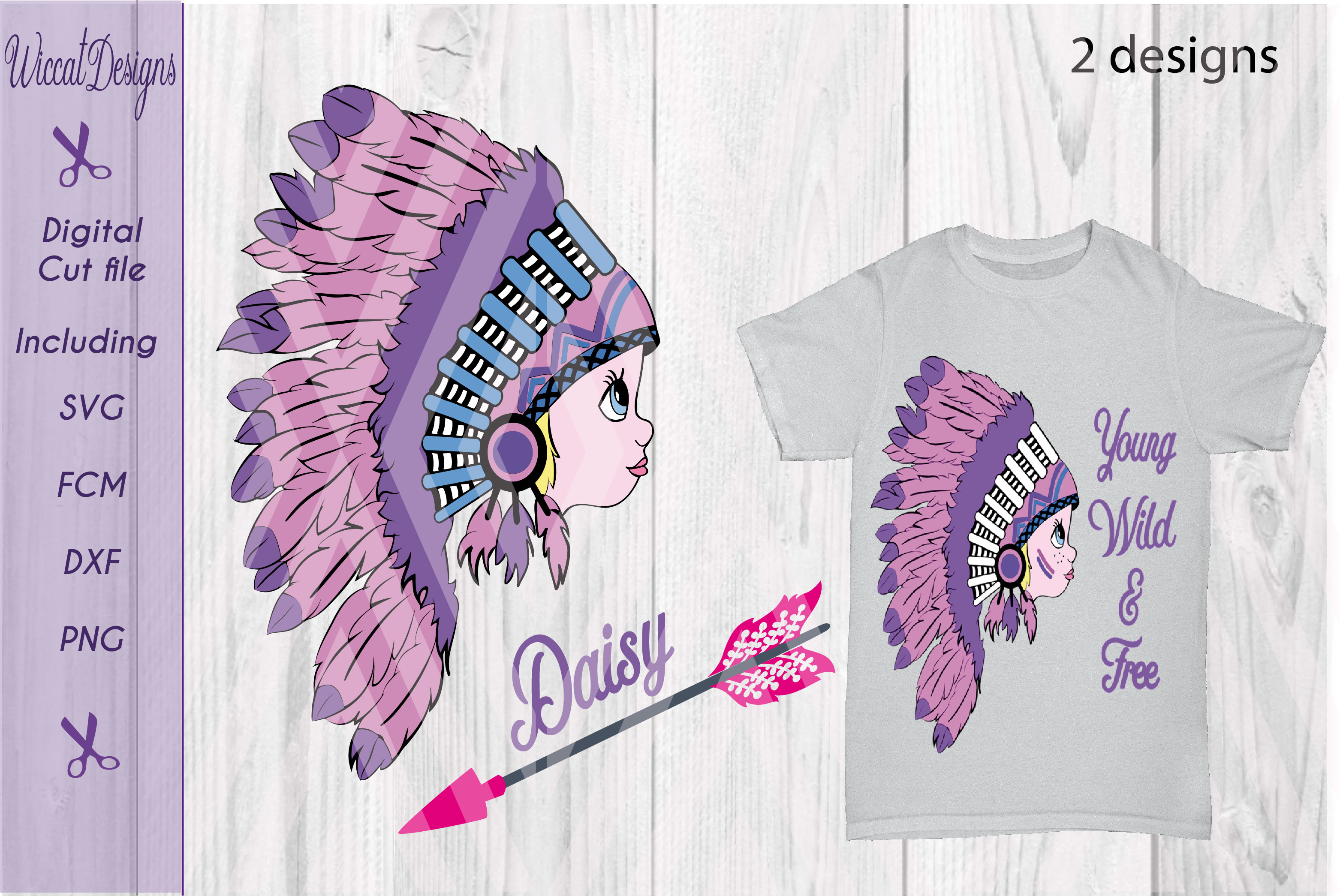 Indian Girl svg, Young Free svg, girls T shirt svg cut file example image 3
