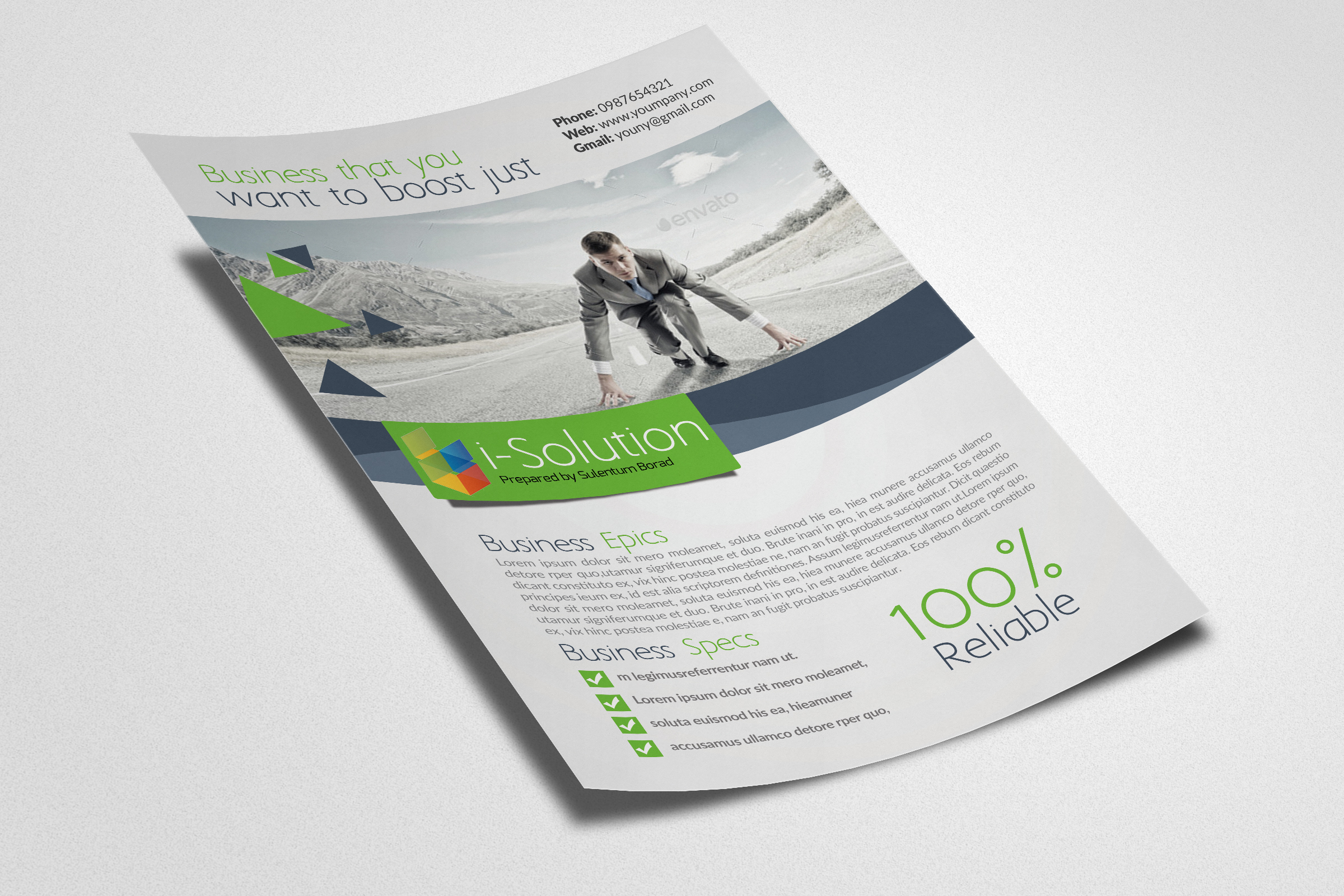 Business Insurance Flyer example image 2