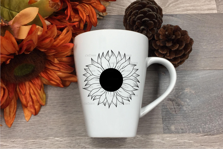 Sunflower SVG bundle   Floral bundle SVG example image 4
