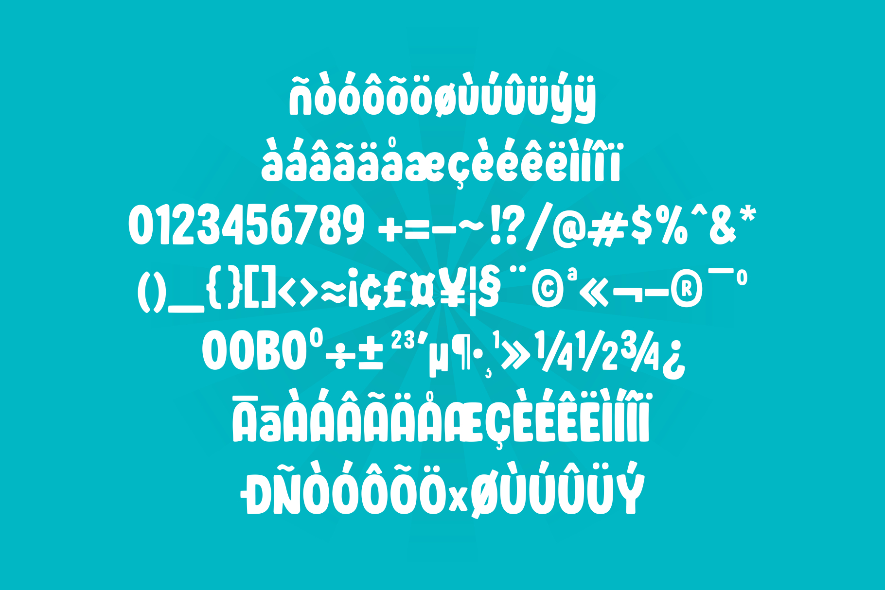 Wonder Boys - Fun Kids Font Display example image 10