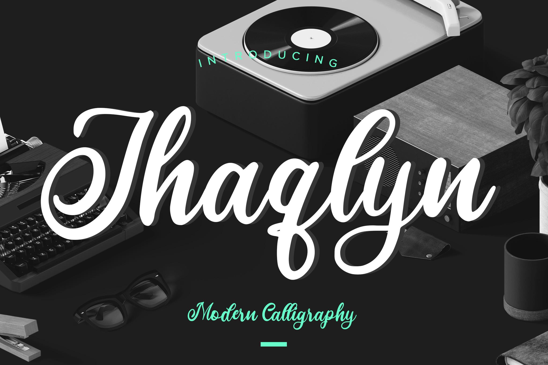 Jhaqlyn Modern Calligraphy example image 1