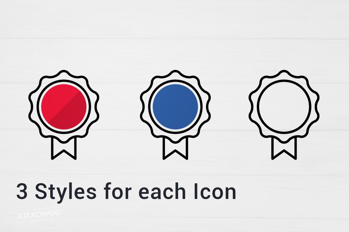 500 Modern Icons Bundle example image 4