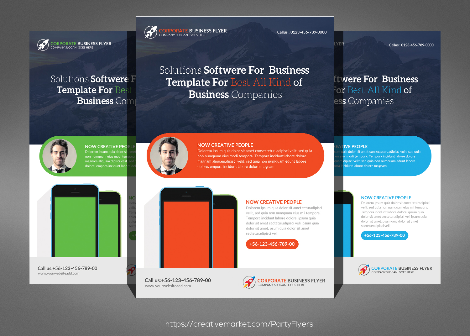 Corporate Flyer Bundle example image 4