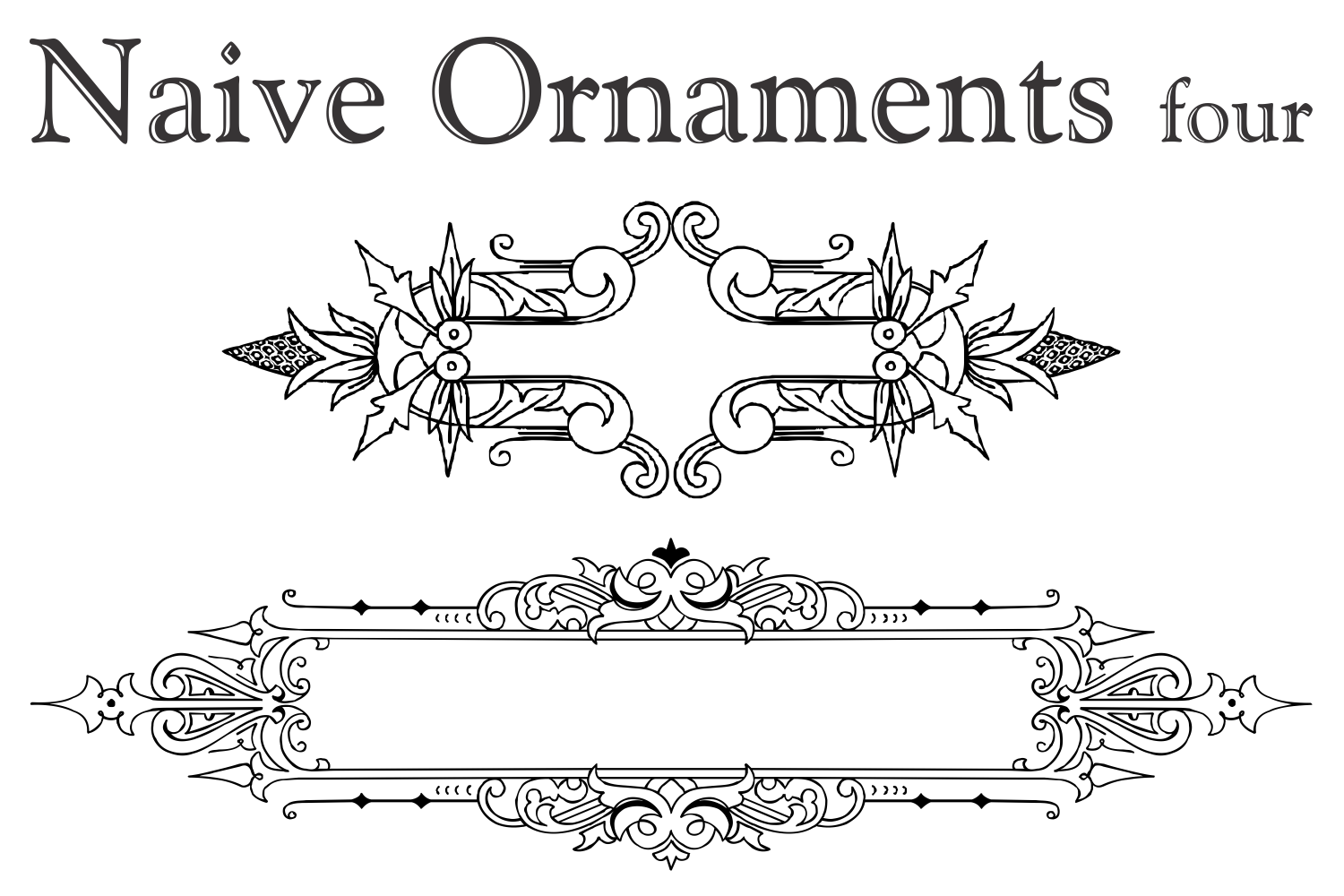 Naive Ornaments Four example image 2