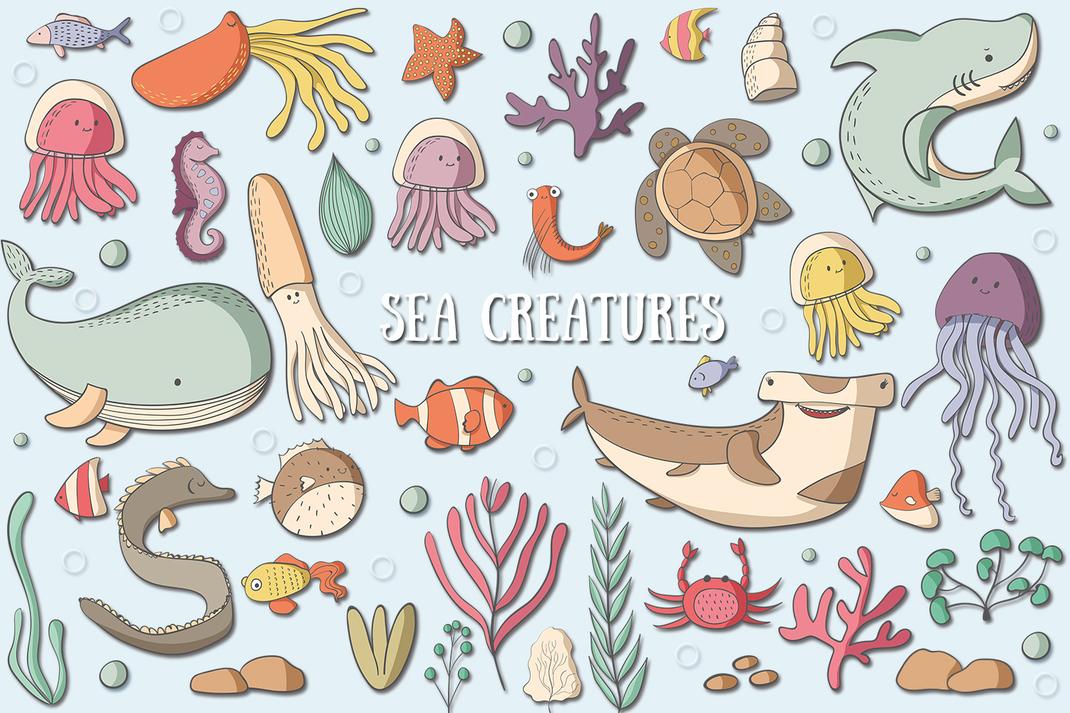 Sea Creatures example image 1