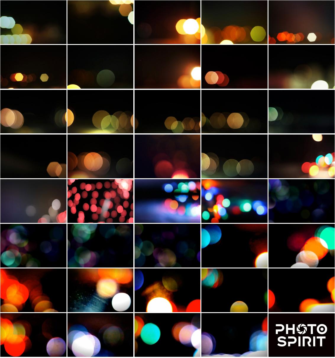 Add Bokeh Overlay Photoshop Actions example image 8