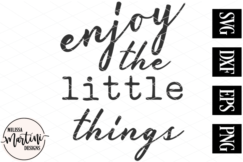 Enjoy the Little Things example image 2