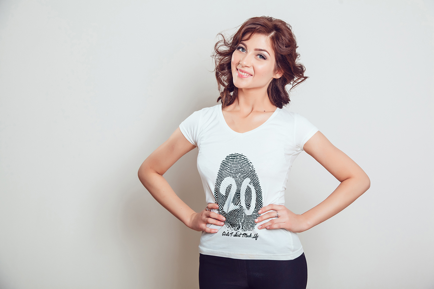 20 Top Girls T-Shirt Mock-Up example image 18