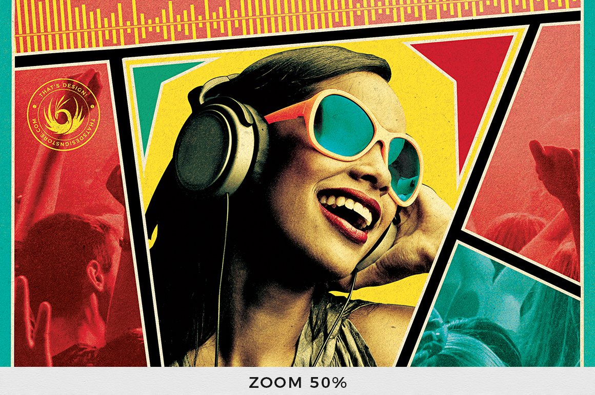 DJ Guest Flyer Template V6 example image 7