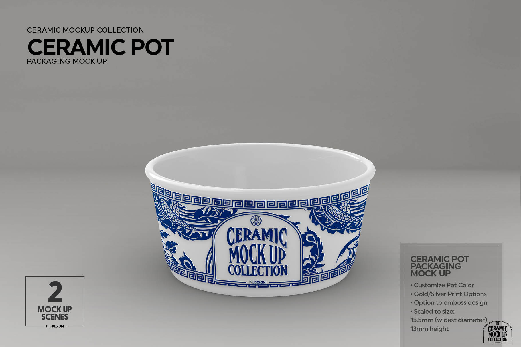 Ceramic Pot Packaging Mock Up example image 5