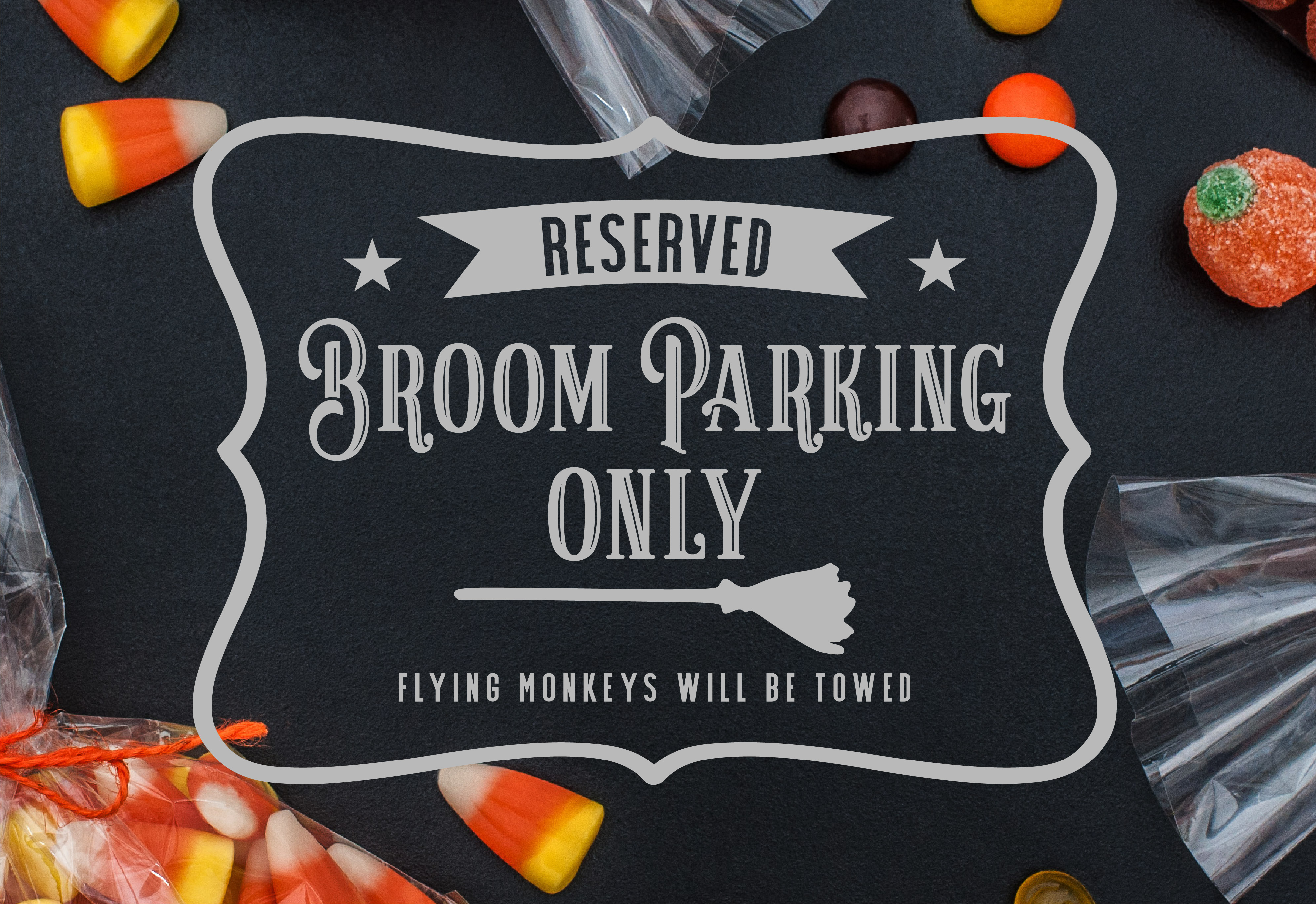 Broom Parking SVG example image 1