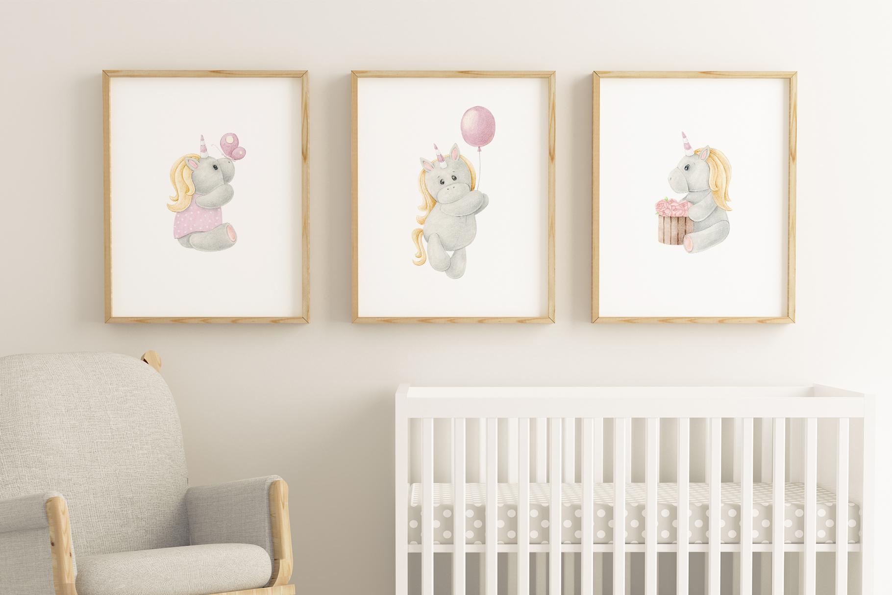 Tiny Unicorn Design Set example image 8