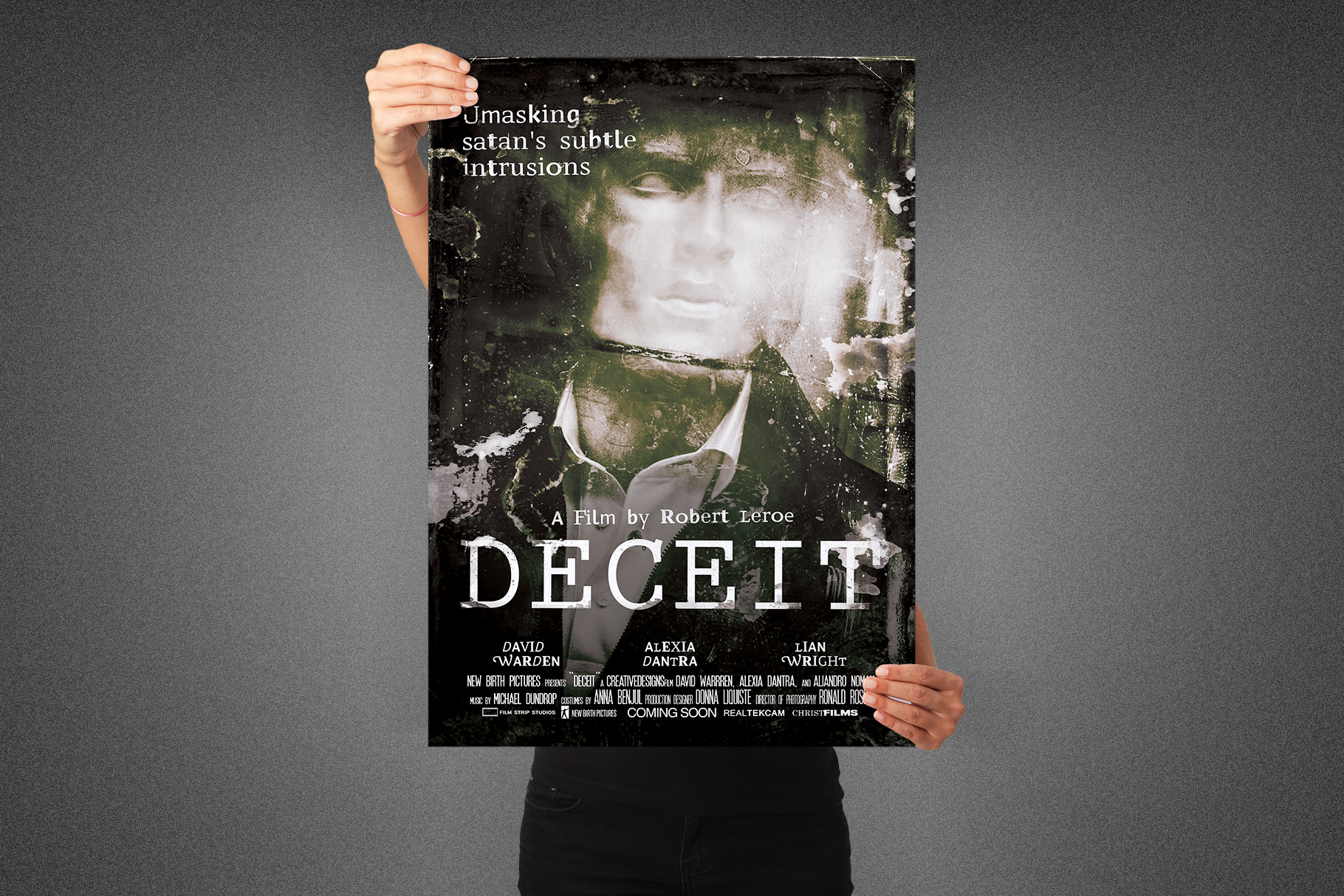 Deceit Movie Poster Template example image 4