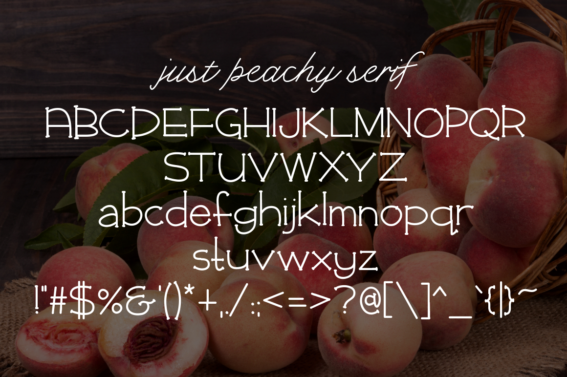 Just Peachy example image 4