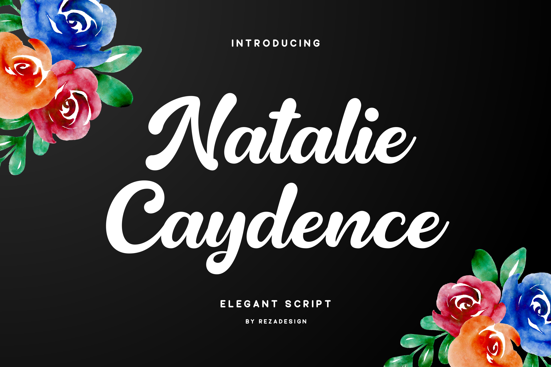 Natalie Caydence - Elegant Script example image 1