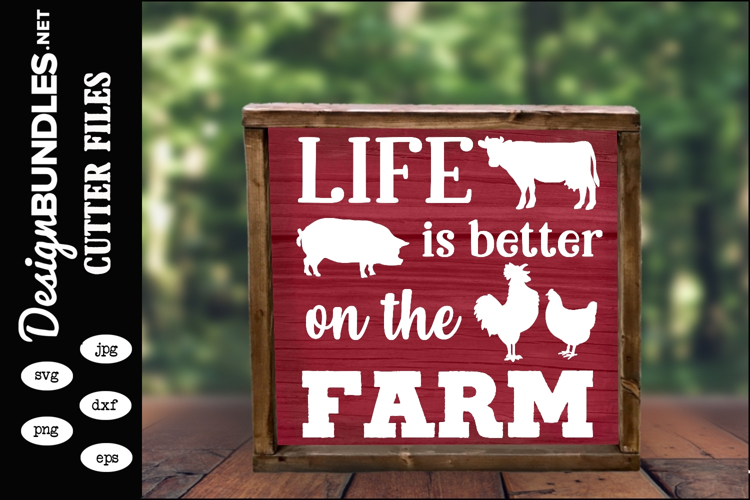 On The Farm SVG example image 1