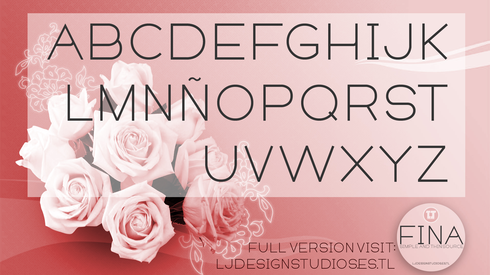 Fina Font example image 2