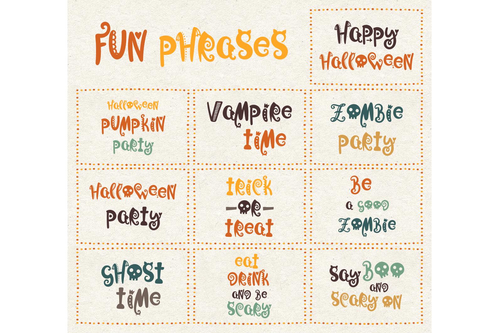 Joy in Night - Halloween Typeface example image 4