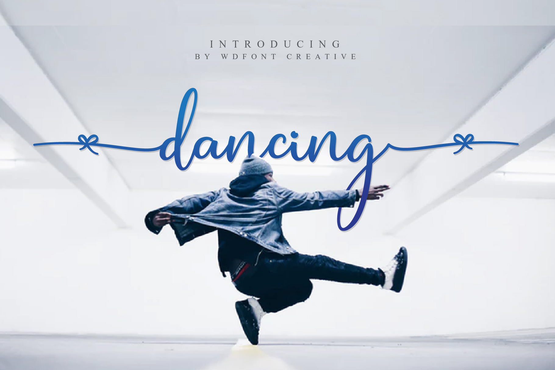 Dancing | New Calligraphy Fonts example image 1