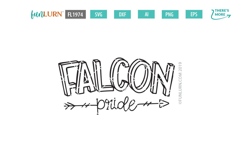 Falcon Pride Team SVG Cut File example image 2