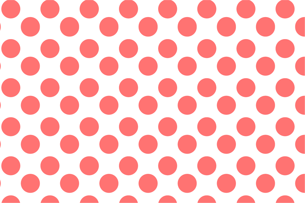 Dotted seamless patterns. Vector set example image 9
