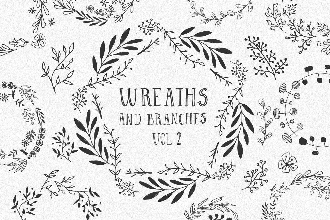 Wreaths and branches vol.2 example image 1