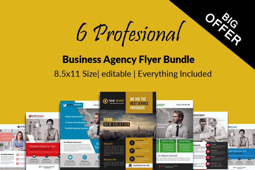 Business Flyers Bundle example image 1