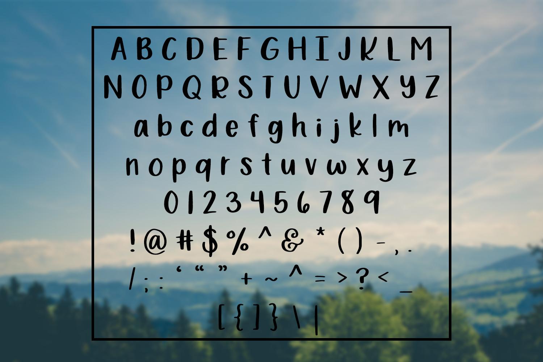 Bewilderment - Simple Handwritten Font example image 2