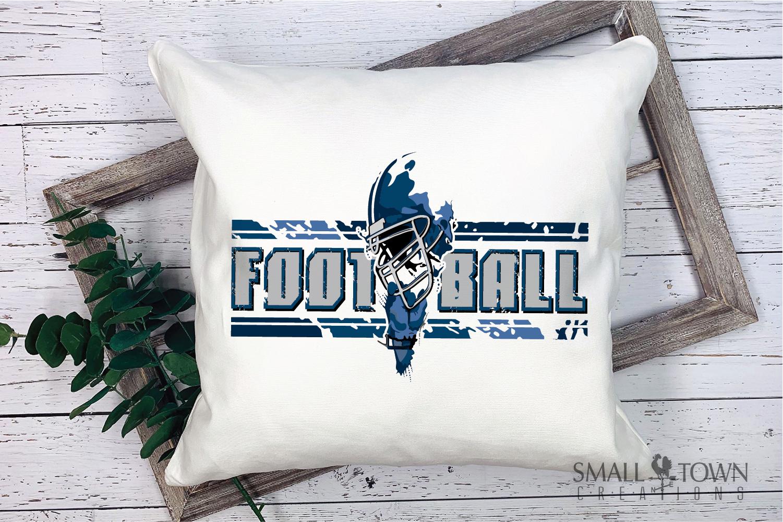 Football, Football helmet, Team logo, PRINT, CUT & DESIGN example image 2