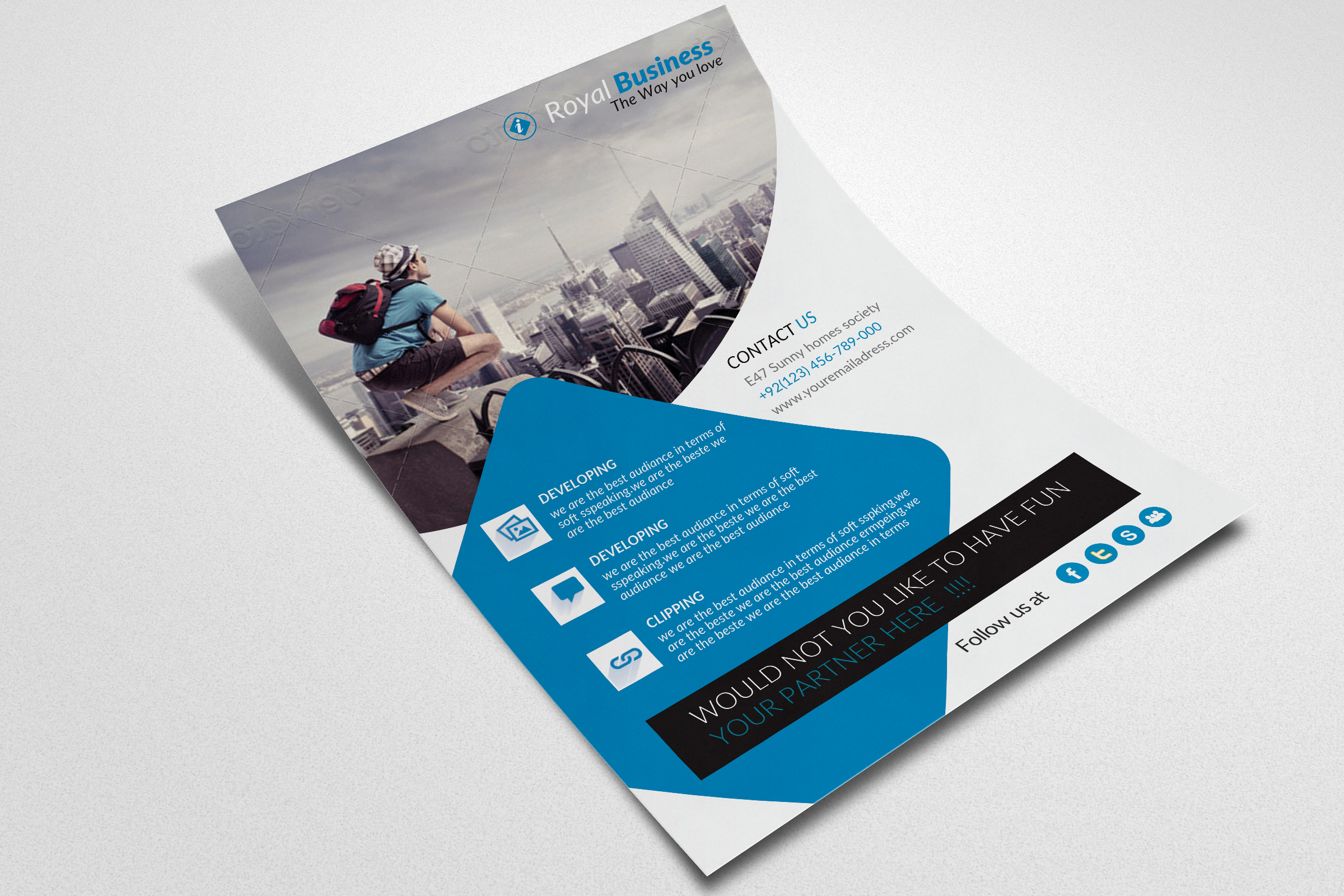 Business Flyer example image 3